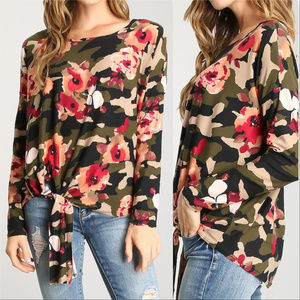 Top Camo & Floral TOP Camouflage